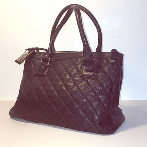 Calvin Klein Leather Quilted Sathel